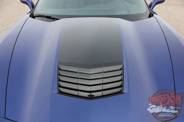 2018 Chevy Corvette Hood Stripes HOOD 2014-2018 2019 3M