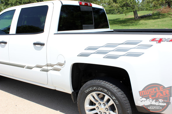 Chevy Truck Stripe Kits CHAMP 2013 2014 2015 2016 2017 2018