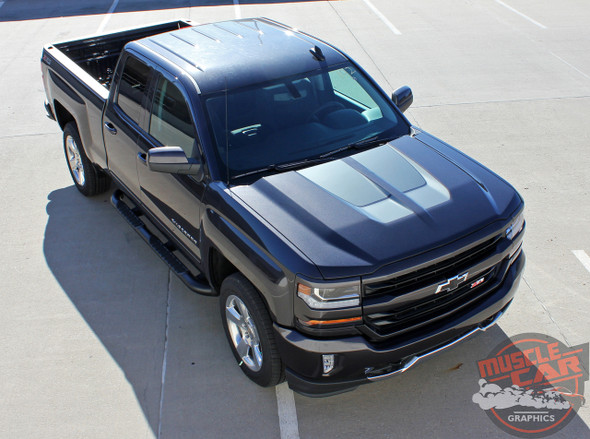 2016 Chevy Silverado Rally Stripes CHASE RALLY 2016-2018 3M 1080 Wrap Vinyl