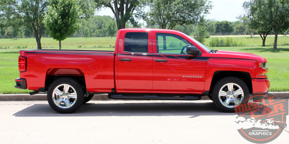 2017 Chevy Silverado Upper Stripes ACCELERATOR 2014-2018
