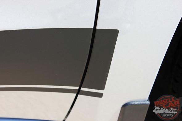 2019 Chevy Silverado Side Stripes SILVERADO ROCKER 2 2019-2020