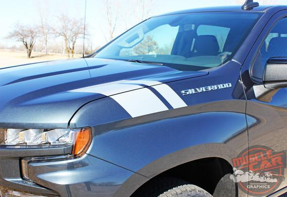 2020 Chevy Silverado Fender Stripes 1500 HASH MARKS 2019-2020