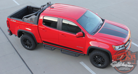 2020 Chevy Colorado Hood Graphics SUMMIT HOOD 2015-2021