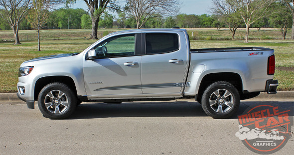 GMC Canyon Side Door Stripes RATON 2015-2020