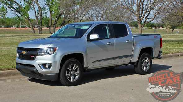 2019 Chevy Colorado Extended Cab Stripes RATON 2015-2021