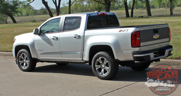 2020 Chevy Colorado Side Vinyl Graphics RATON 2015-2021