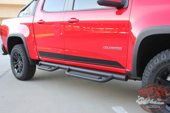 2021 Chevy Colorado Pinstriping RAMPART 2015-2021