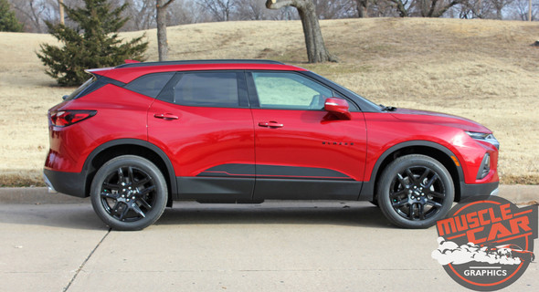 BLAZE ROCKER | 2019-2021 Chevy Blazer Stripes