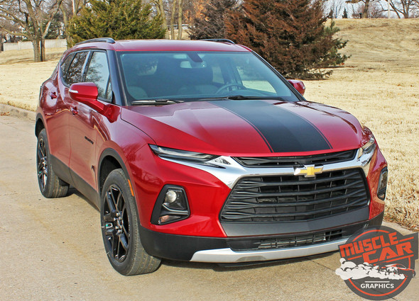 HOT STREAK HOOD | 2019-2021 Chevy Blazer Hood Stripes