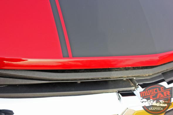HOT STREAK HOOD | 2019-2020 Chevy Blazer Hood Stripes