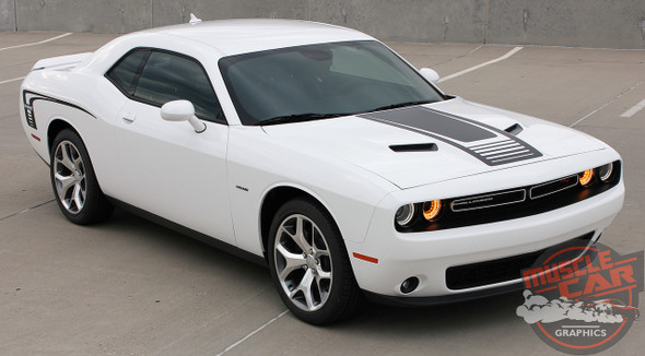 Dodge Challenger Side and Hood Decals CUDA STROBE 2011-2020 2021
