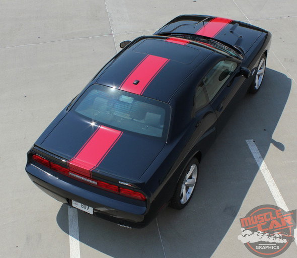View of 2019 Dodge Challenger Center Graphics 15 FINISHLINE 2011-2020