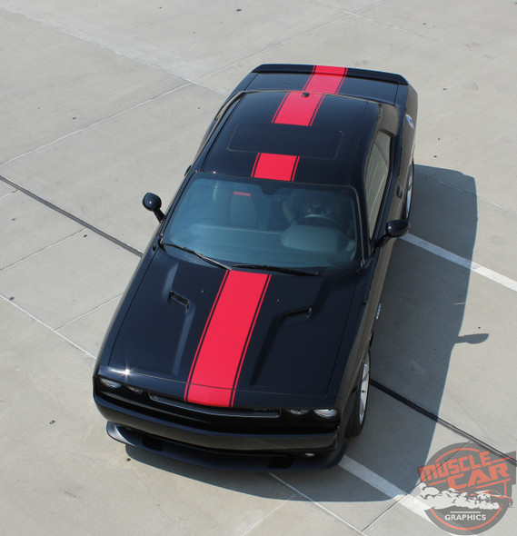 View of 2019 Dodge Challenger Center Graphics 15 FINISHLINE 2011-2020 2021