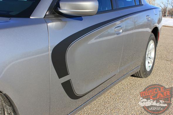 2018 Dodge Charger Side C Stripes C-STRIPE 15 2015-2020