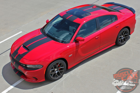Front view of 2019 Dodge Charger SRT Stripes N CHARGE RALLY 2015-2021