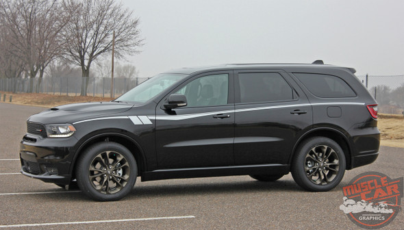 Side View of 2021 Dodge Durango Side Stripes
