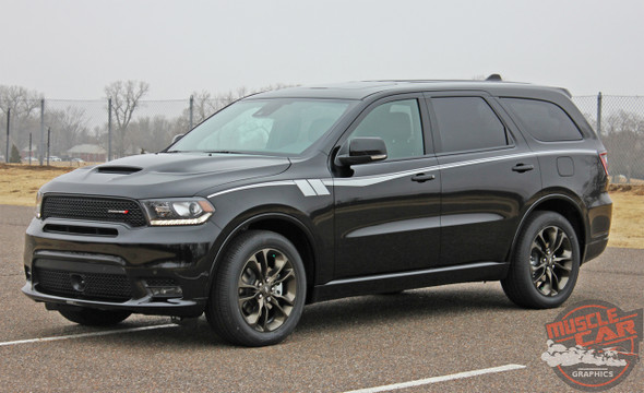 Side View of 2020 Dodge Durango Side Stripes