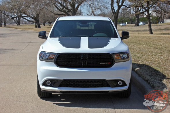 View of 2018 Dodge Durango Hood Stripes PROPEL HOOD 2011-2020 2021