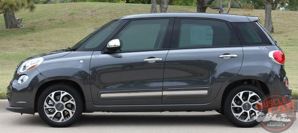 Profile Fiat 500L Vinyl Graphics STRAIGHTAWAY 2014 2015 2016 2017 2018