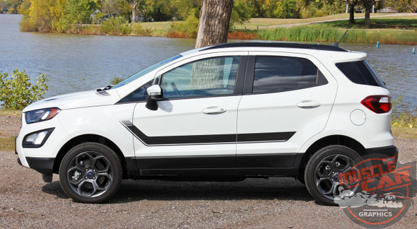 View of 2018 Ford EcoSport Graphics FLYOVER KIT 2018-2020