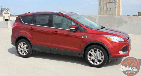 View of Ford Escape Decals RUNAROUND 2013-2019