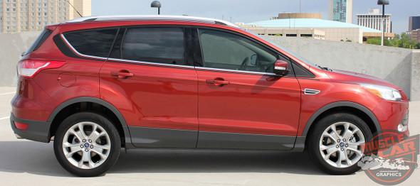 View of Ford Escape Decals RUNAROUND 2013-2019