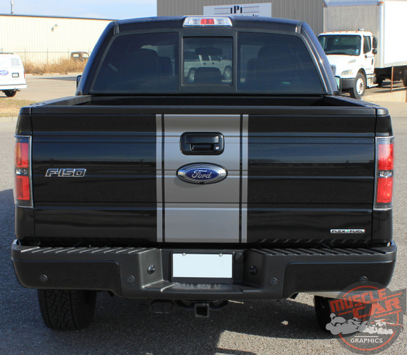 View 2014 Ford F-150 Center Decals CENTER STRIPE 2009-2014