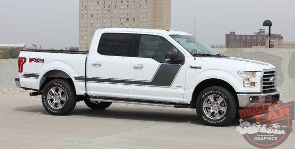 Profile View of 2017 F150 Side Graphics FORCE 2 2009-2016 2017 2018 2019 2020