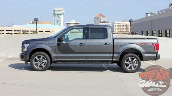 Side view of 2018 F150 Stripe Package SIDELINE 2015-2019 2020