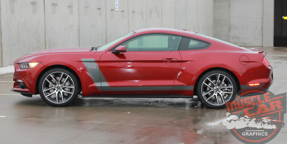 2016 Ford Mustang Stripes STELLAR 2015 2016 2017