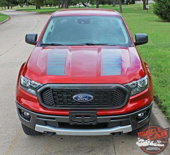 2019 Ford Ranger Hood Graphics NOMAD HOOD 2019-2020 2021