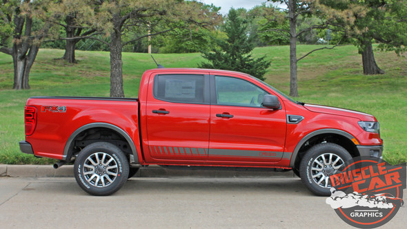 Ford Ranger Side Graphics NOMAD ROCKER 2019-2020 2021