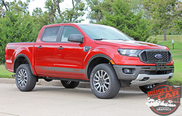 2020 Ford Ranger Side Stripes NOMAD ROCKER 2019-2020