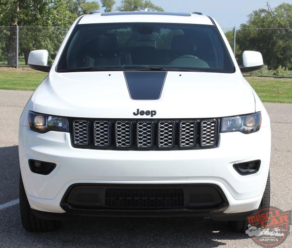 2018 Jeep Grand Cherokee Hood Stripes PATHWAY HOOD 2011-2020 2021