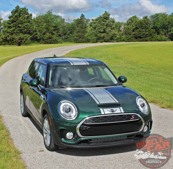2019 Mini Cooper Stripes Clubman S Type Rally 2016-2020 3M 1080 Wrap Vinyl