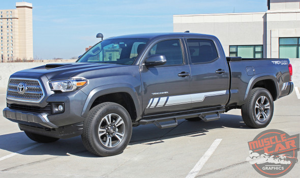 Side View of 2019 Toyota Tacoma Side Graphics CORE 2015-2020