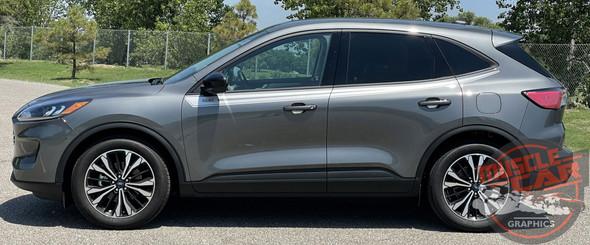 Side View of 2021 Ford Escape Upper Side Stripes SABRE SIDE 2020-2021