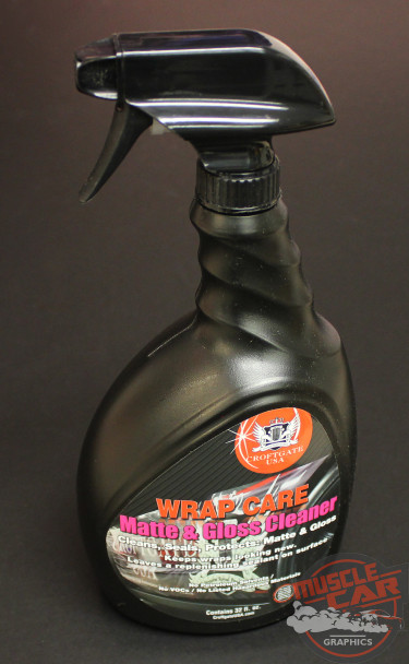 WRAP CARE CLEAN Matte and Gloss Vinyl Cleaner (32 oz) by Croftgate