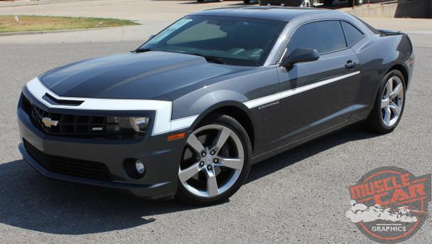 2009-2013 Chevy Camaro Hood and Side Stripes VINTAGE KIT