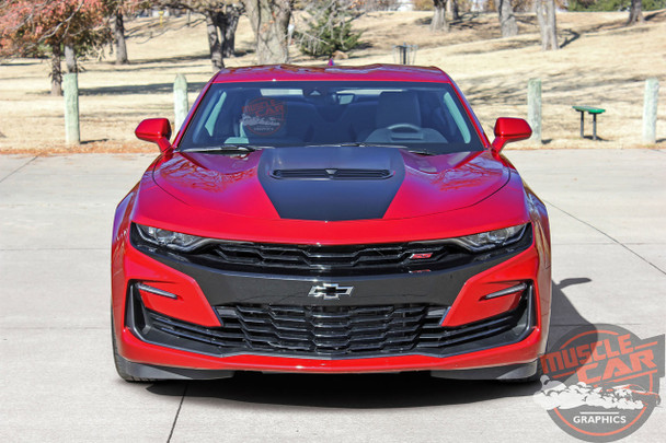 2019 Camaro Hood Graphics SHOCK HOOD 2019-2020