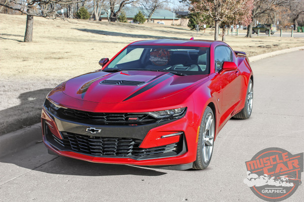 2019 Chevy Camaro Hood Stripes WIDOW HOOD STRIPES 2020 3M