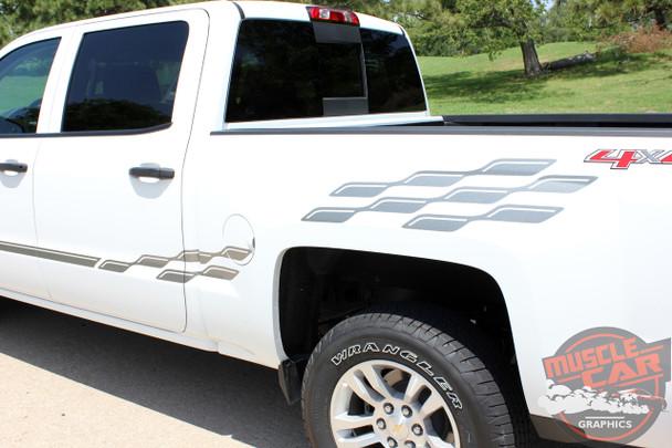 Chevy Truck Stripe Kits CHAMP 2013 2014 2015 2016 2017 2018