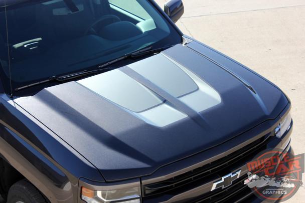 2016 Chevy Silverado Rally Stripes CHASE RALLY 2016-2018 3M 1080 Wrap Vinyl