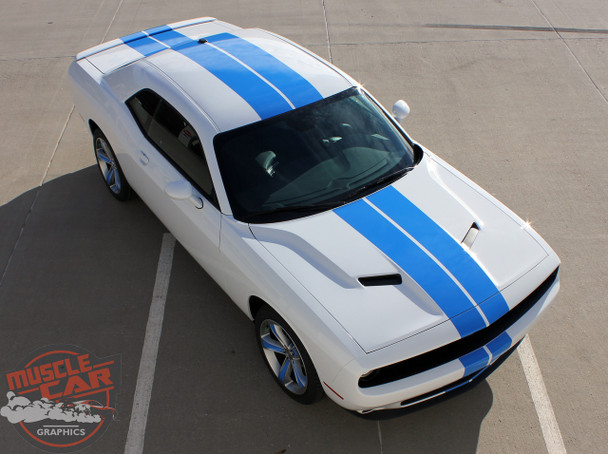 View of 2018 Challenger Rally Stripes CHALLENGE RALLY 2015-2020 2021