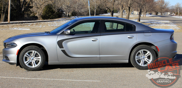 2018 Dodge Charger Side C Decals C-STRIPE 15 2015-2019 2020 2021