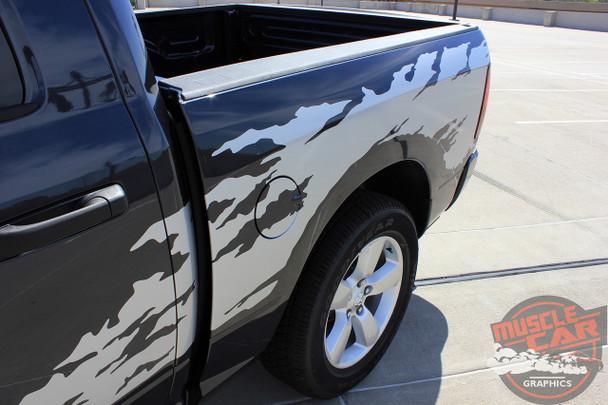 Side View of 2015 Dodge Ram Graphics RAGE RAM 2009-2015 2016 2017 2018