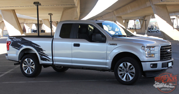Passenger side view of 2019 F150 Graphics Package TORN 2015 2016 2017 2018 2019 2020