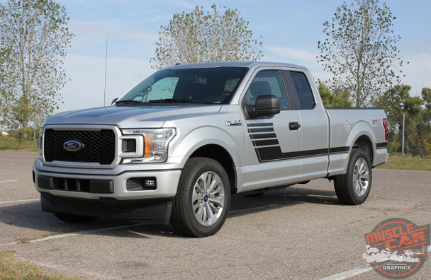 Side angle view of 2019 Ford F150 Graphics SPEEDWAY 2015-2018 2019 2020
