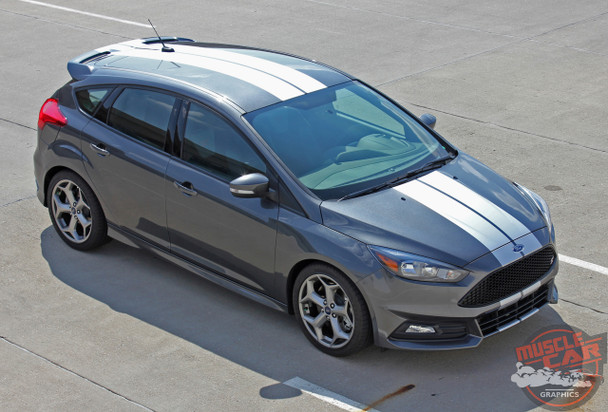 Ford Focus ST Graphics TARGET FOCUS RALLY 2015 2016 2017 2018 2019
