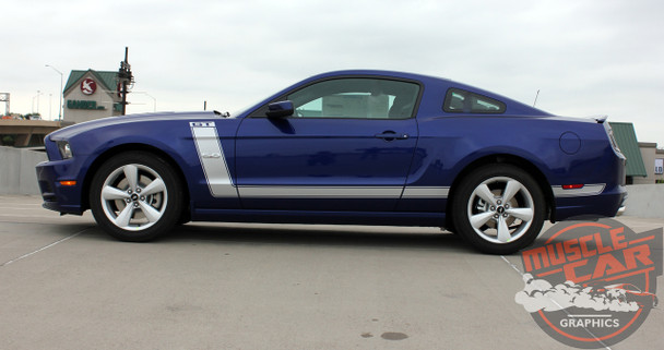 Profile for 2014-2013 Ford Mustang Side and Hood Stripes PRIME 2